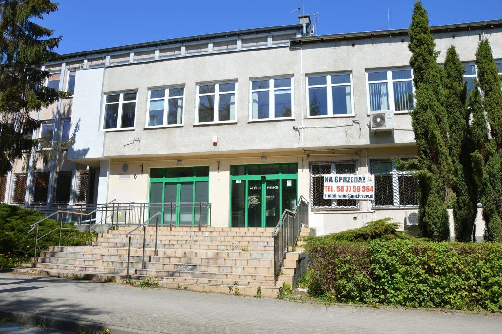 Tczew, budynek biurowy na sprzedaż